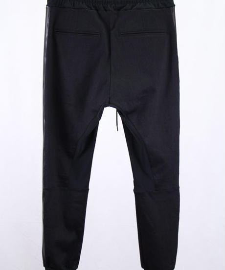 Bennu(ヴェンヌ)  110740502  / CP Denim Line Jogger Pants-BLACK/PU
