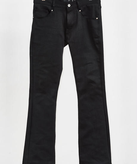 ys Yuji SUGENO (イース ユウジ スゲノ)  210340502-BLACK / Twin power boot cut denim pants