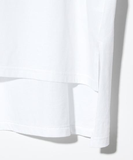 ys Yuji SUGENO (イース ユウジ スゲノ)  220210105/   Hemstep Big T / Girl -WHITE