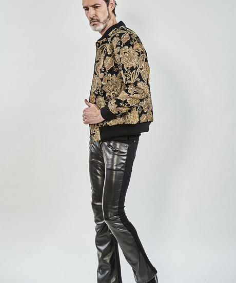 ys Yuji SUGENO (イース ユウジ スゲノ) 210330902 / Gobelin jacquard batting zip blouson