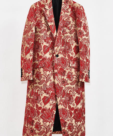 ys Yuji SUGENO (イース ユウジ スゲノ) 210331101 / Gobelin Jacquard Chester Long Coat