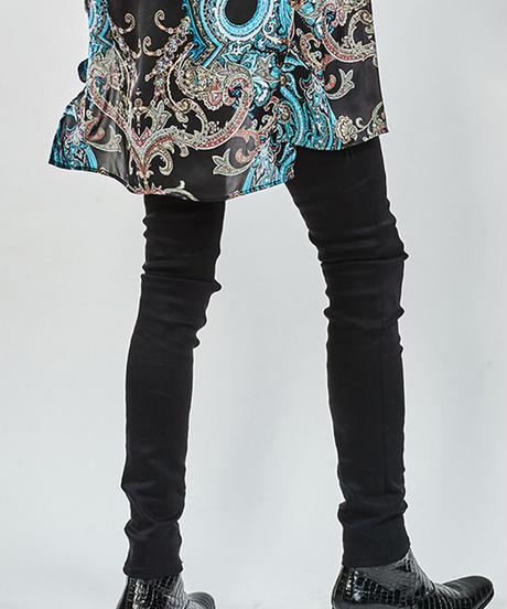 ys Yuji SUGENO (イース ユウジ スゲノ)  210340501-BLACK / Twin power skinny denim pants