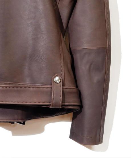 ys Yuji SUGENO (イース ユウジ スゲノ) 21045902B / Calfskin Belted Double Riders Jacket
