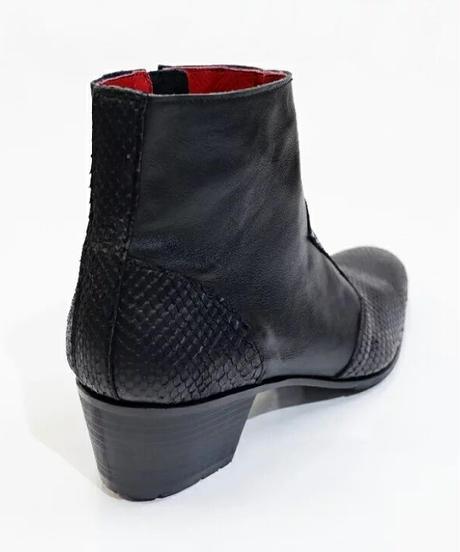 ys Yuji SUGENO (イース ユウジ スゲノ)  210454201 / Python changing Heel Boots