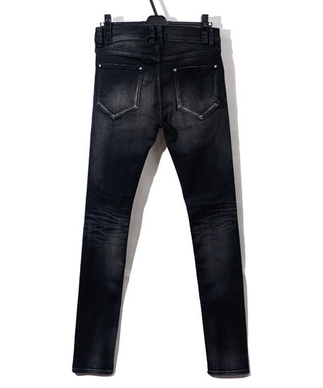 ys Yuji SUGENO (イース ユウジ スゲノ)  210340503-D.GRAY / Hybrid Stretch USED Skinny Denim Pants
