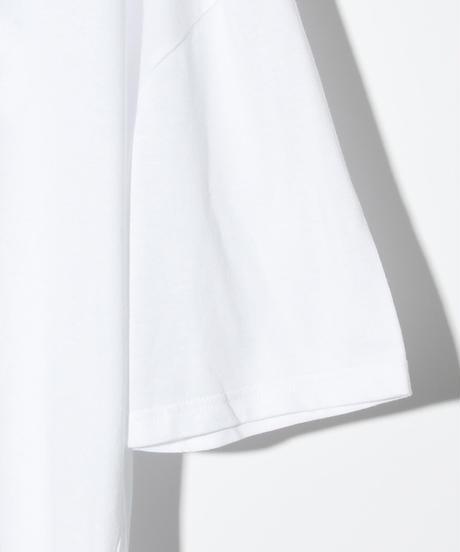 ys Yuji SUGENO (イース ユウジ スゲノ)  210410101 / NEW WAVE Hemstep Big Tee-WHITE