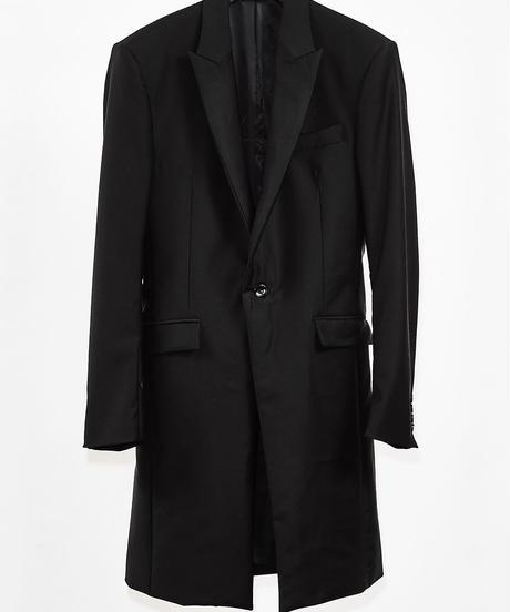 ys Yuji SUGENO (イース ユウジ スゲノ) 210331002-BLACK / Tuxedo cross chester jacket