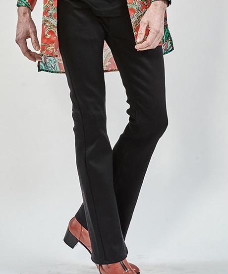 ys Yuji SUGENO (イース ユウジ スゲノ)  210340502-BLACK / Twin power boot cut denim pants
