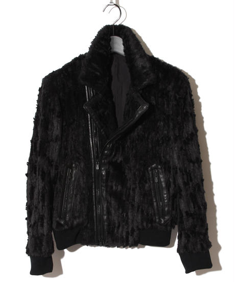 ys Yuji SUGENO (イース ユウジ スゲノ) 210830903 / Recchis fur Double Riders Jacket
