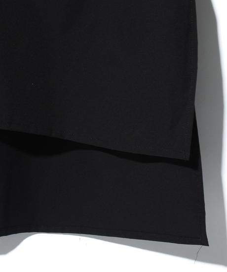 ys Yuji SUGENO (イース ユウジ スゲノ)  220230401 / Solotex foil printed long shirt-BLACK