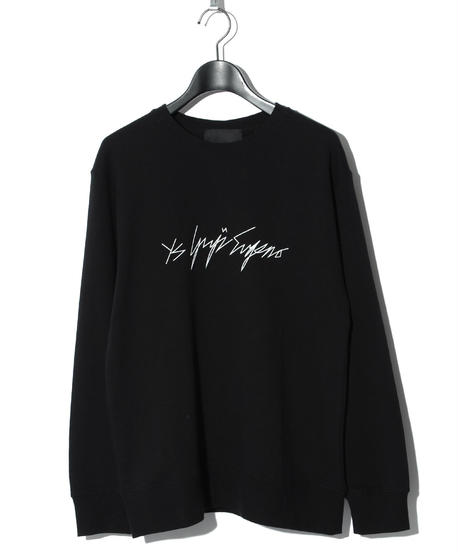 ys Yuji SUGENO (イース ユウジ スゲノ)  220210101 / Heavyweight pile sweat / ys-Girl -BLACK