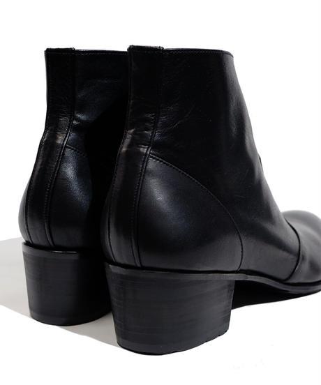 ys Yuji SUGENO (イース ユウジ スゲノ)  210454202 / Side Zip Heel Boots