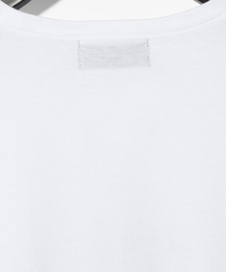 ys Yuji SUGENO (イース ユウジ スゲノ)  220510101 / ys Line Art Hemstep Big Tee-WHITE