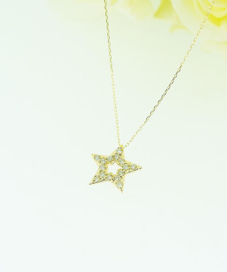 21041-361 K18YG D0.2ct Star/N