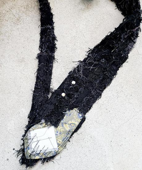 -逆走芸術-Crust Neck Belt (m)