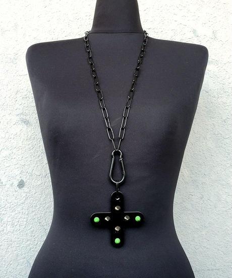 BLACK LongNecklace