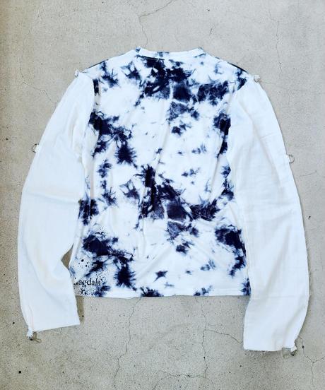 【Magdala】Gauze Sleeve Long T-shirt