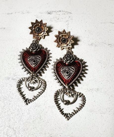 W Toge Heart Pierce