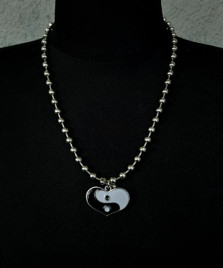 Heart YingYang Necklace