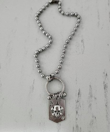 Spade Ball Necklace