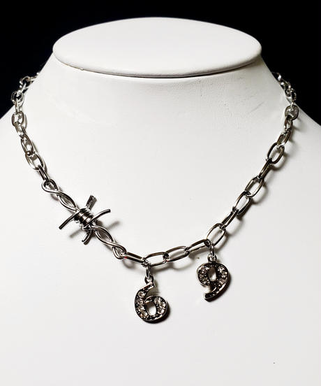 Wire 69 Necklace