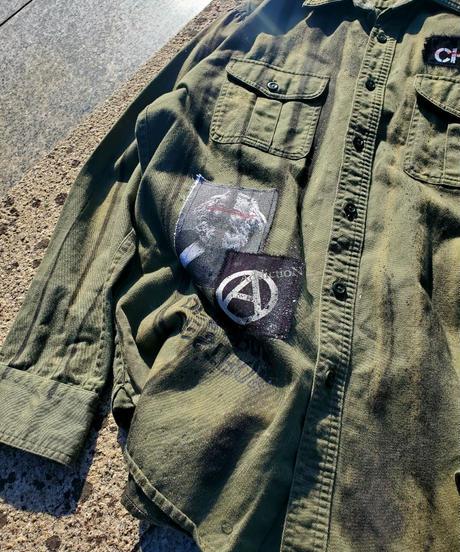 Military Paint Shirt(C)