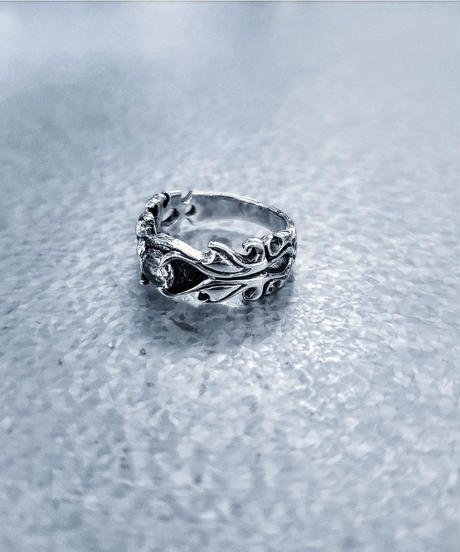 SILVER 925  Clear Stone Ring