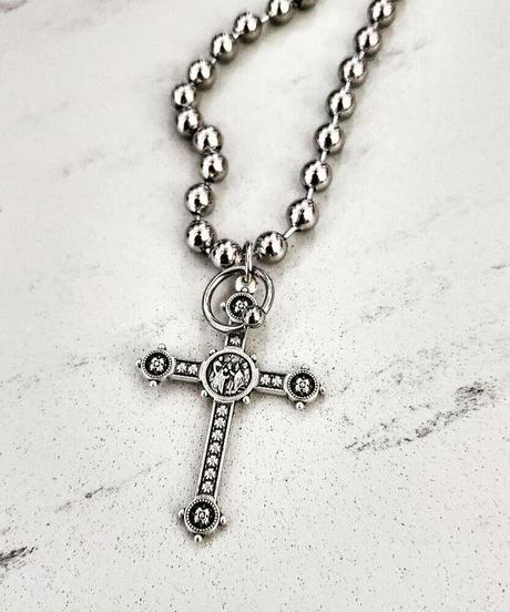 Cross M. Necklace