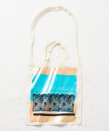 Lace tote bag WHITE/175