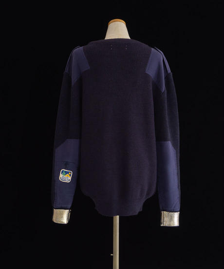 Patches knit NAVY / 04067