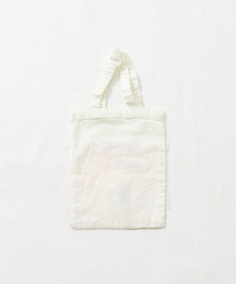 Lace tote bag WHITE/134