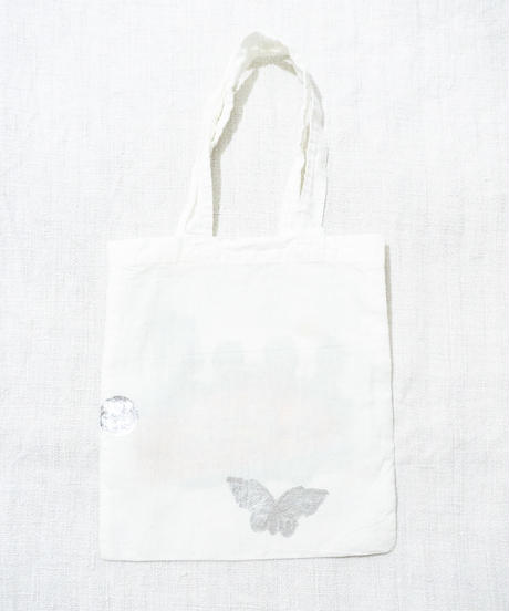 Lace tote bag WHITE/127