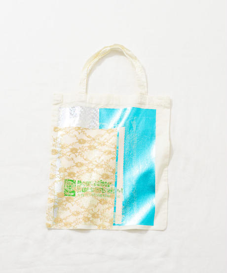 Lace tote bag WHITE/164
