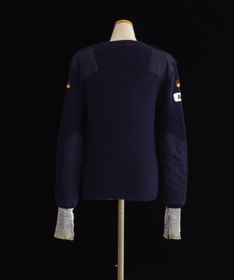 Patches knit NAVY / 04068