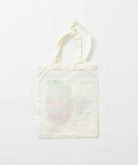Lace tote bag WHITE/132