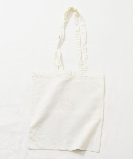 Lace tote bag WHITE/159