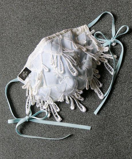 シャンデリアレースマスク