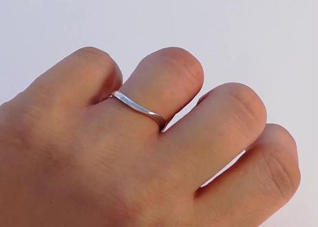 【単品】1MOBR-14M プラチナ(pt950)石なし