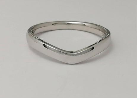 V字指輪 II(1MOBR-8)プラチナ(pt950)– ペアリング –