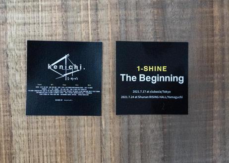 The Beginning Sticker(1set with2)