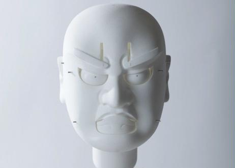 武智光秀(総曲)原寸大組み立てキット(3Dプリント製) Mitsuhide Takechi(Sokyoku)  Real scale  assembly kit(by 3dprint)