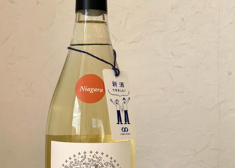〜柑橘系の甘く爽やかな香りで心地良く〜(ナイアガラ)白・辛口・750ml・REGALO2020