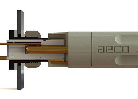 テルル銅 24金メッキ RCAプラグ[ARP-4045G]4個1組 《The STARS》