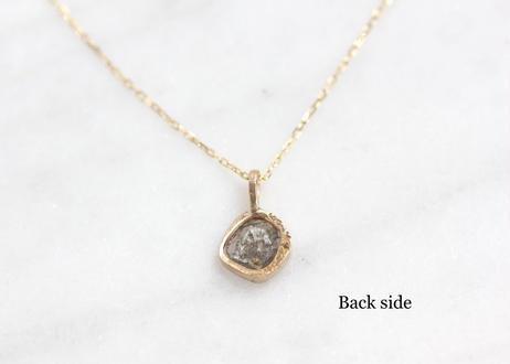 slice  diamond+K18ネックレス