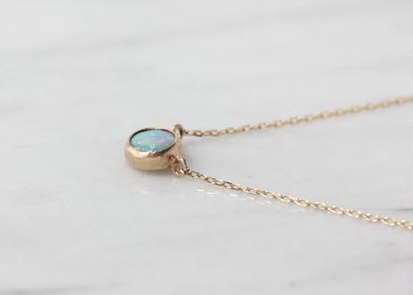 Opal+K10ネックレス