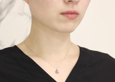 diamond+K18ネックレス