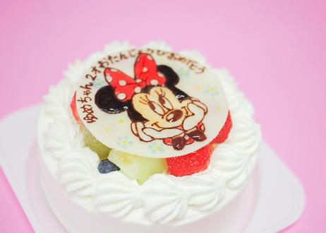 イラストケーキ (5号サイズ)