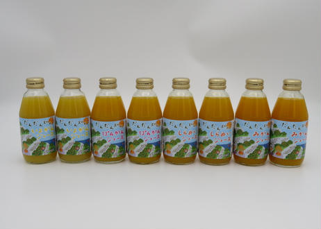 [セール品] だんだん畑のみかんジュース お得な8本セット