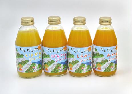 [セール品]だんだん畑のみかんジュース&飲む明浜みかん寒天ジュレセット