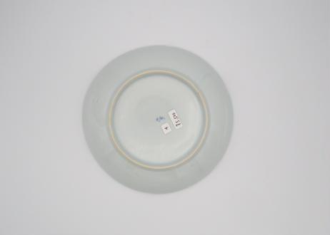 清水なお子 色絵花唐草5.5寸皿